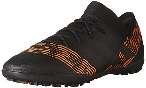 (adidas Men's Nemeziz Tango 17.3 TF Soccer Shoe, core Black/Solar red, 9 M US)