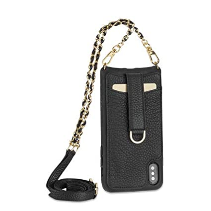 Amazon.com: Vaultskin Victoria Crossbody - Funda de piel ...