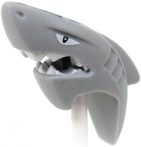 LEGO Atlantis Minifigure Parts Great White Shark Head Loose Head [Loose]