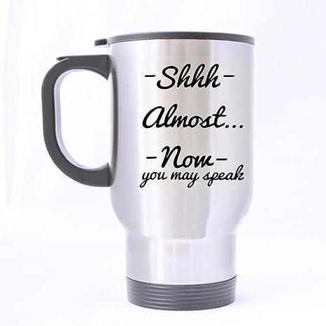 """Casi ahora puede hablar"""" alta definición patrón plata buena taza"""