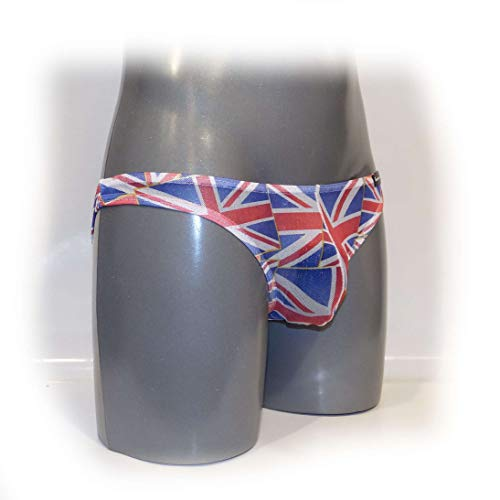 String Bulge Thongs Mens Unión Jack M Size Pouch qAHHSt