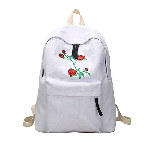 80d5a7ce42 Lounayy Draper The The The Fashion Kids Zaino Da Viaggio Zaino Da Scuola  Per Studenti Dual From Mass School Bags Borsa A Spalla Double Click (Colore  Bianca, ...