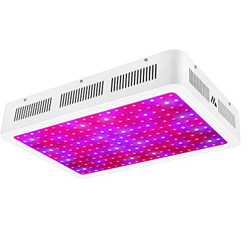 Morsen 2400W LED Grow Light 2 Dimmer On Off Switch Full Spectrum for Hydroponic Indoor Greenhouse/Garden Plants Growing