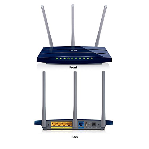 TP-LINK TL-WR1043ND Wireless Router - IEEE 802.11n (draft)