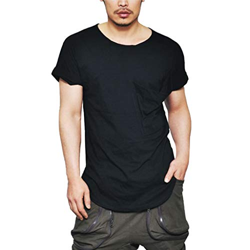 iHPH7 T-Shirt Men Everyday Short Sleeve T-Shirt Men