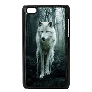 VNCASE Wolf Howling Phone Case For Ipod Touch 4 [Pattern-3]