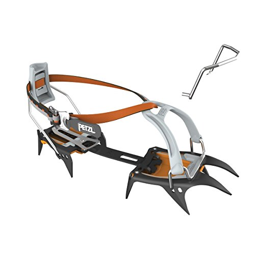 Petzl - IRVIS, Crampons for Ski Touring and Glacier Travel, Leverlock