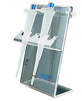 Nalgene 6803-0001 Acrylic Pipet Rack with Stand, 152mm Length x 260mm Width x 102mm Height