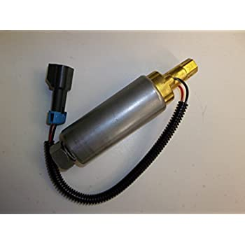 Replaces 861156A1 Airtex E11004 HFP-702 Fuel Pump Replacement for Mercruiser No-Thread Outlet