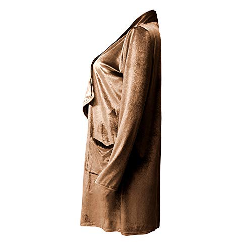 De Veste Tops nbsp; Chaud Cardigan Manteau Pullover Shobdw Casual Hoodie Capuche Sweatshirt Velours Blouson Femme Blouse Ouvert Hiver À Jaune Mode XWn1nUYH