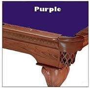 8' Purple ProLine Classic 303 Teflon Billiard Pool Table Cloth
