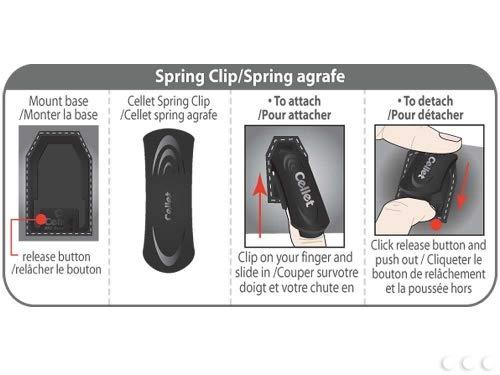 Cellet Executive Case with Swivel Clip & Spring Belt Clip for Blackberry Storm 9530 - Black (Case Blackberry Storm)