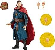 Marvel Legends Series Build-a-Figure Doctor Strange Figura de 15 cm e Acessórios - F3023 - Hasbro