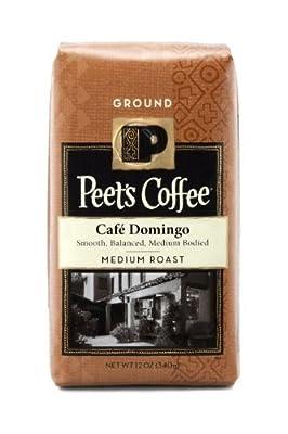 Peet's Coffee Ground Coffee - Cafe Domingo - 12 oz