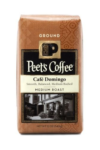 Peet's Coffee Cafe Domingo Blend, Ground (Medium), 12 oz