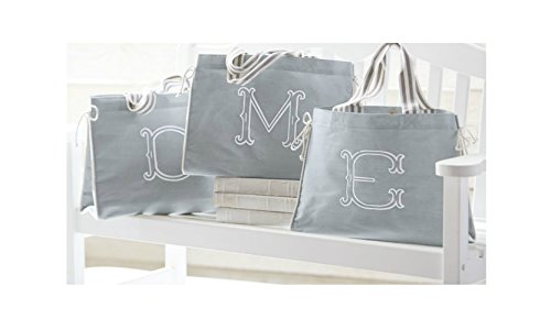 Mud Pie Gray Initial Diaper product image