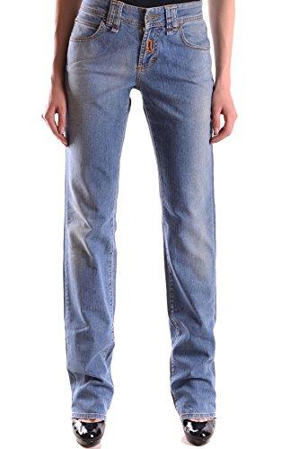 Galliano Femme MCBI130052O Bleu Coton Jeans