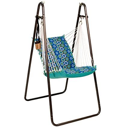 Charmant Algoma Net Soft Comfort Hanging Chair With Stand
