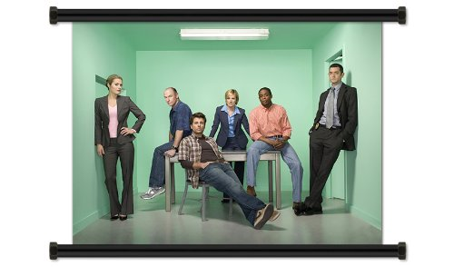 Psych Season 2 TV Show Fabric Wall Scroll Poster (32
