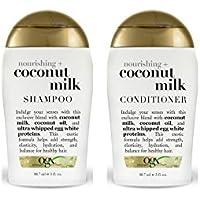 OGX Nourishing Coconut Milk Conditioner + Shampoo