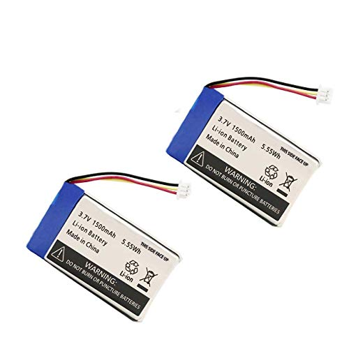 AOLIKES 3.7V Rechargeable Polymer Battery for DXR-8, 1500mAh