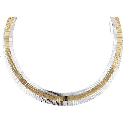 SF Bijoux - Collier argent 925/1000e 2 tons (43 cm - 25,75 g) - (301627-43)