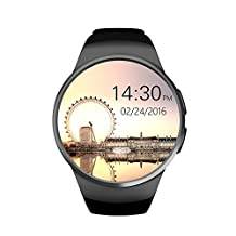 LENCISE Smart Watch Phone MTK2502C 1.3 Inch Round IPS Touch Screen Bluetooth 4.0 Anti-lost Remote control apk for IOS Android