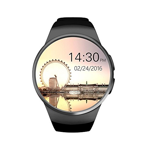 Amazon.com: FENGSHI Smart Watch Phone MTK2502C 1.3 Inch Round IPS Touch Screen Bluetooth 4.0 Anti-lost Remote control apk for IOS Android: Cell Phones & ...