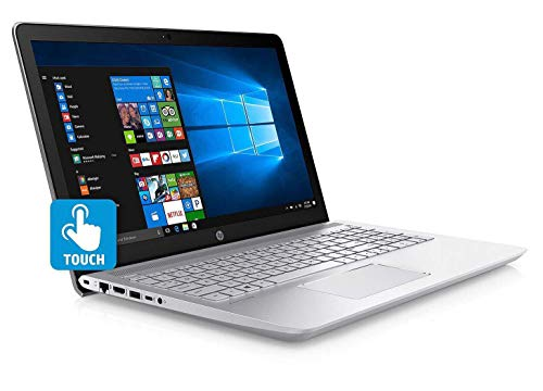 HP Touch 15z Sleek Laptop Quad Core Processor up to 3.4GHz 8GB 1TB 15.6in HD WiFi DVD+/-RW HDMI (Renewed)