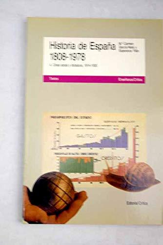 Historia de España, 1808-1978. t.1. la revolucion liberal 1808-68: Amazon.es: Garcia-Nieto Paris, María Carmen: Libros