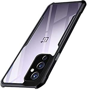 TheGiftKart Back Cover for OnePlus 9 5G(TPU;Poly Carbonate/Transparent)