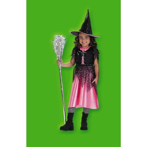 Disguise Pink Sparkle Witch - Size: (Pink Sparkle Witch Costumes)