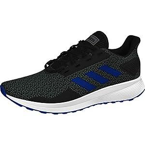 adidas Duramo 9 (Wide) Shoe – Men's Running Core Black/Royal/Grey