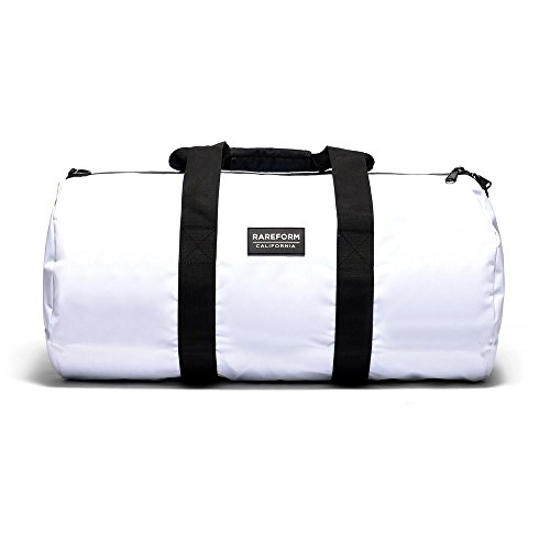 Rareform Weekender Duffle Bag Water Resistant Tarpaulin 53L Large (Whiteout) by Rareform