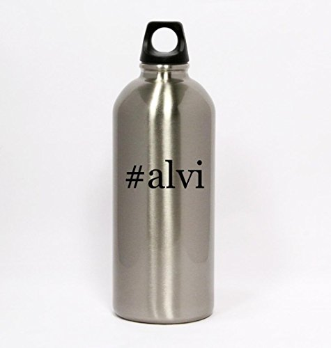 alvi-hashtag-silver-water-bottle-small-mouth-20oz