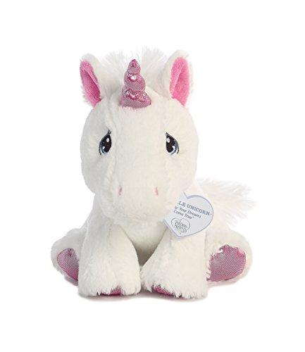Precious Moments Sparkle Unicorn Stuffed Animal - 8 Inch by Aurora World