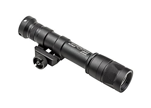 SureFire M600V IR Scout Light LED Weaponlight with White and IR Output - M600V-B-Z68-BK by SureFire
