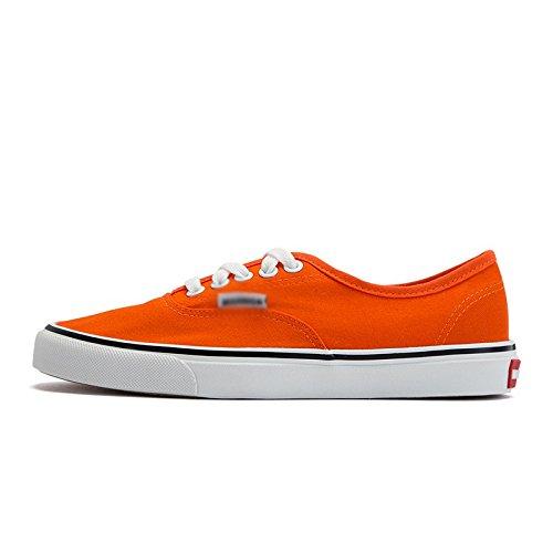 da primavera bassa uomo di piatte scarpe Scarpe tela aiutare studente XFF scarpe casual arancia per maschio scarpe scarpe bianche scarpe singole xqYIpwnS
