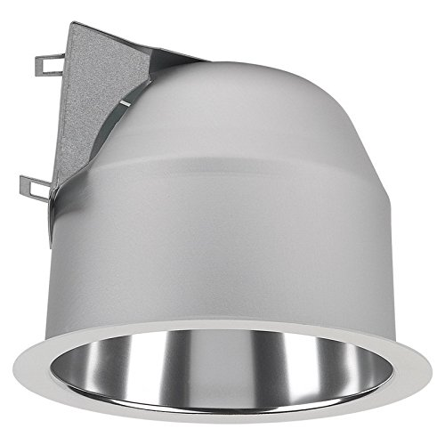 Calculite® Reflector Trim, White Flange, For Use With 6 Inch Aperture CFL Lensed Downlight