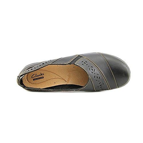 Clarks Vrouwen Evianna Fig Slip Op Schoenen Zwart