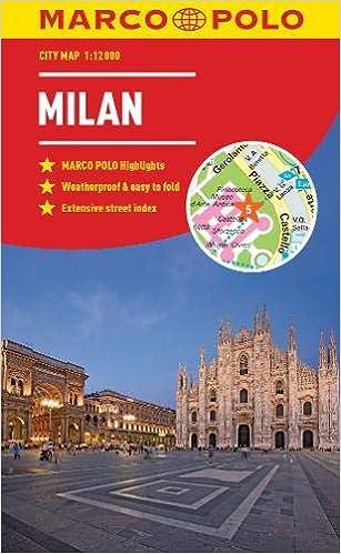 Milan Marco Polo City Map - pocket size, easy fold, Milan street ...
