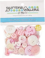 Buttons Galore 50 Piece Theme Button Value Pack