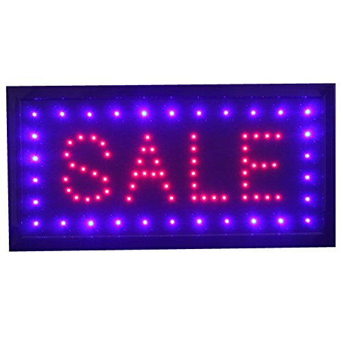 Discount (1 day only) - Bmled Bright Sale Led Neon Sign Animation Switch On/off with Chain