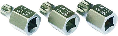 Mueller-Kueps 810 808 Duo Drive XZN 8-Piece Socket Kit by Mueller-Kueps (Image #2)