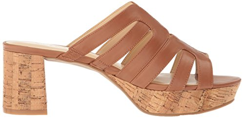 Sandal Nine Women's Copula Dark Natural Leather West Dress r7AAvw5qXx