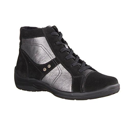 Black Eu Waldlaufer Womens 40 5 Asphalt Boots Hesna Suede 312801 wnnpqt6UC