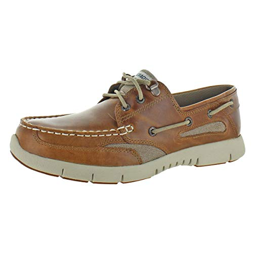 (Sebago Mens Clovehitch Lite Brown/Tan 10 M)