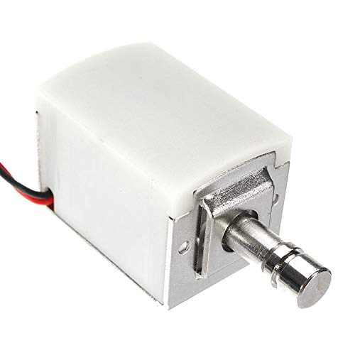 OKIl 12V DC 1.5A Mini Electric Bolt Lock Cylindrical Sauna Cabinet Drawer Solenoid Lock