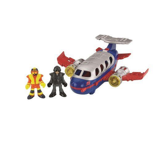 Fisher-Price Imaginext Rescue City Deluxe Jumbo Jet image