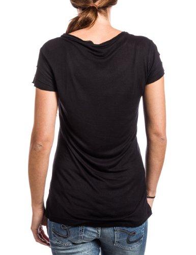Timezone - Camiseta para mujer Negro